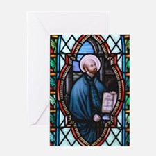 St Ignatius Loyola Greeting Card