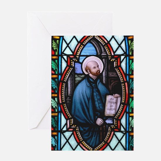 St Ignatius Loyola Greeting Card