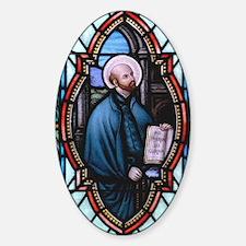 St Ignatius Loyola Sticker (Oval)