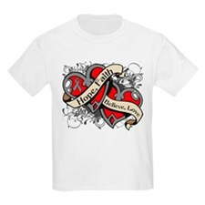 Brain Disorders Hope Hearts T-Shirt