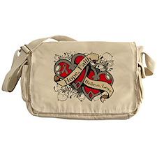 Brain Disorders Hope Hearts Messenger Bag