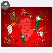 Funny Santa Claus Puzzle