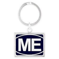 2-ME Oval Landscape Keychain