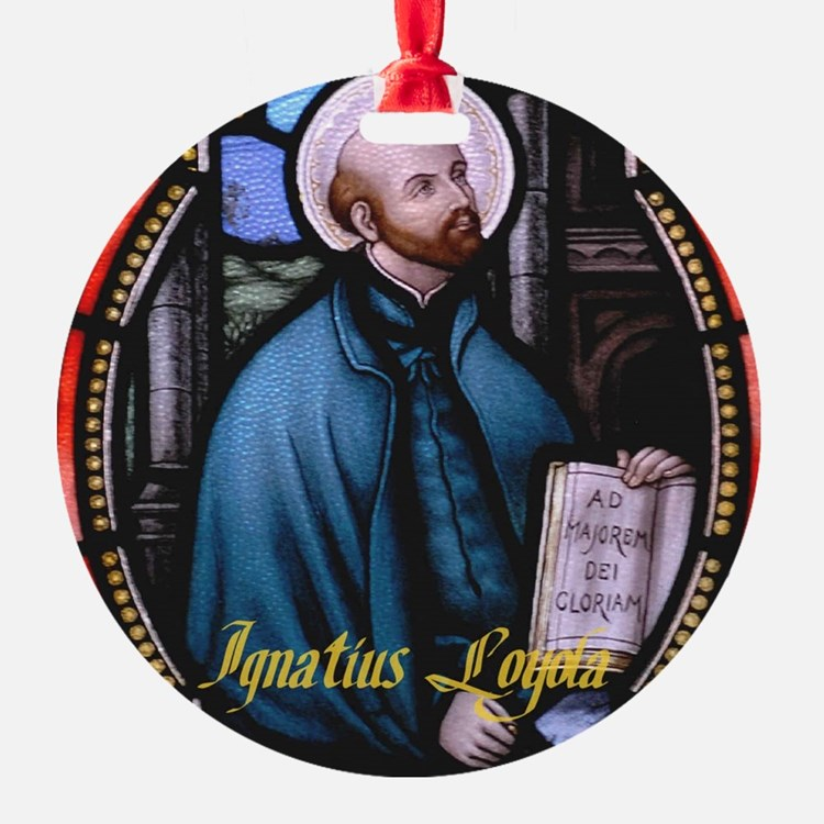 St Ignatius Loyola Ornament