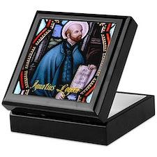 St Ignatius Loyola Keepsake Box