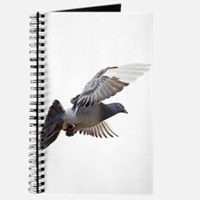 pigeon fly to love joy peace Journal