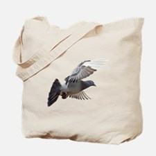 pigeon fly to love joy peace Tote Bag