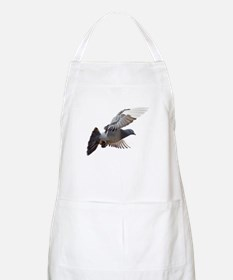 pigeon fly to love joy peace Apron