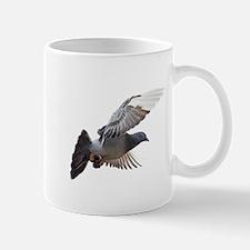 pigeon fly to love joy peace Mugs