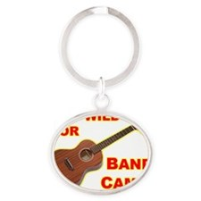 2-T Oval Keychain