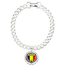 Belgium Soccer bear Bracelet