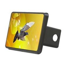 pigeon fly to love joy peace c Hitch Cover