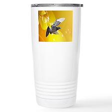 pigeon fly to love joy peace c Travel Mug