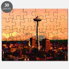 Seattle in the Clouds copy Puzzle