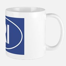 RI Oval Mug