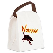 wolf copy Canvas Lunch Bag