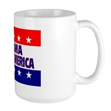 RectangleStickerObamaHatesAmerica Mug
