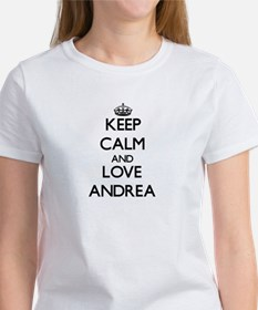 Keep Calm and Love Andrea T-Shirt