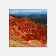"Bryce Canyon National Park Square Sticker 3"" x 3"""