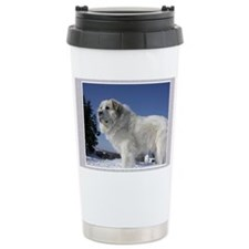 Great Pyrenees Travel Coffee Mug