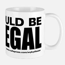 Icouldbe illegal BLK copy Mug