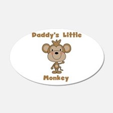 Daddy's Little Monkey Wall Decal