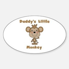 Daddy's Little Monkey Decal