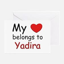 I love yadira Greeting Cards (Pk of 10)