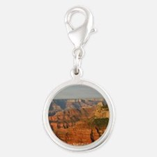 Grand Canyon Silver Round Charm