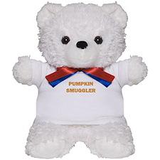 PUMPKIN SMUGGLER Teddy Bear