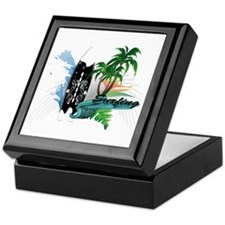 surfing Keepsake Box