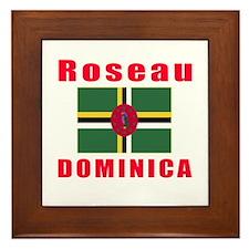 Roseau Domini Designs Framed Tile