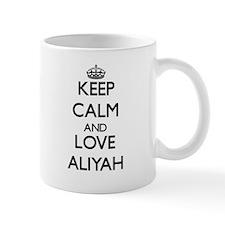 Keep Calm and Love Aliyah Mugs