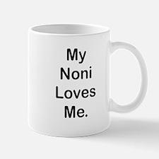 MY NONI LOVES ME Mugs