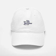 May 14 Birthday Baseball Baseball Cap