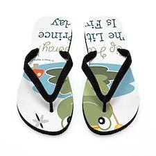 FrogPrince5thBirthday Flip Flops