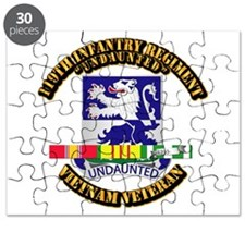 Army - 119th Infantry Regiment w SVC Ribbon Puzzle