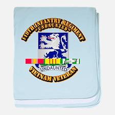 Army - 119th Infantry Regiment w SVC Ribbon baby b