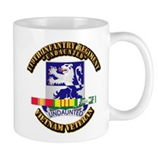 Army - 119th Infantry Regiment w SVC Ribbon Mug