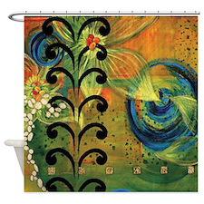 Kelp Forest By Catalina Garreton Shower Curtain