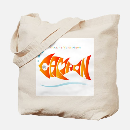 Camron orange fish (goldfish) Tote Bag