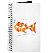 Camron orange fish (goldfish) Journal