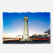 Biloxi Lighthouse Postcards (Package of 8)