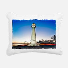 Biloxi Lighthouse Rectangular Canvas Pillow