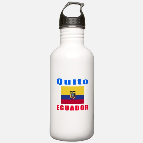 Quito Ecuador Designs Water Bottle