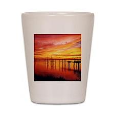 Sunset @ Marina Shot Glass