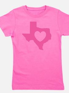 heart_pink Girl's Tee