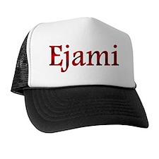 EjamiRedBlack Trucker Hat