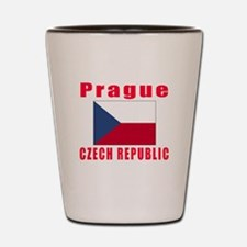 Prague Czech Republic Designs Shot Glass