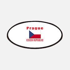 Prague Czech Republic Designs Patches